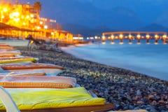 Beautiful resort beach Royalty Free Stock Images