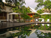 Beautiful Resort in Costa Rica Royalty Free Stock Photography