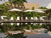 Beautiful Resort in Costa Rica Stock Photography