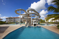 Beautiful Resort Pool Stock Images