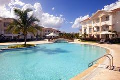 Beautiful Resort Pool royalty free stock photos
