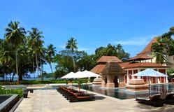 Beautiful resort Stock Photography