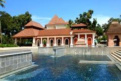 Beautiful resort Stock Images