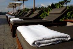 Beautiful Resort swimming pool Stock Photos
