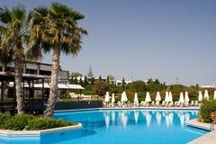 Beautiful Resort Swimming Pool Royalty Free Stock Photos