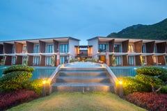 Beautiful of resort royalty free stock photo