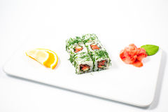 Beautiful restaurant food Stock Image