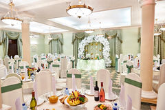 Beautiful restaurant for weddings Royalty Free Stock Photo