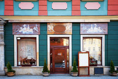 Beautiful Restaurant in Wroclaw, Poland. Traditional restaurant in Wroclaw, Poland Royalty Free Stock Photo