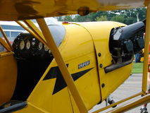 Beautiful restored classic Piper J3 Cub. Royalty Free Stock Photo