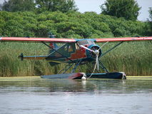 Beautiful restored de Havilland DHC-2 Beaver float plane. Stock Photos