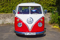 Beautiful restored VW Bully Royalty Free Stock Images