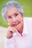 Beautiful retired woman Stock Images