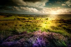 Beautiful HDR Photography with Colors and Landscape Stock Photography
