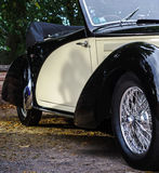 Beautiful retro car. Elegance and style of  first part of XX cen Stock Photography