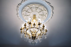 Beautiful retro chandelier Royalty Free Stock Images