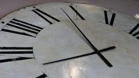 Beautiful retro clock face royalty free stock photography