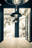 Beautiful retro lamp decor Royalty Free Stock Photos