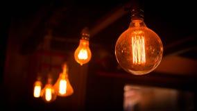 Beautiful retro luxury interior lighting lamp decor. Royalty Free Stock Image