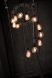 Beautiful retro luxury interior lighting lamp decor Royalty Free Stock Image