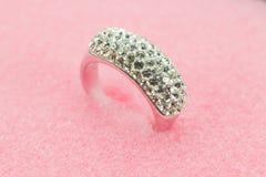 Beautiful ring jewelry Stock Image