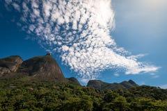 Beautiful Rio de Janeiro Mountain Landscape Stock Photography