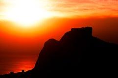 Beautiful Rio de Janeiro Sunset Royalty Free Stock Image