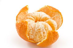 Beautiful ripe tangerine Royalty Free Stock Image