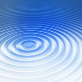 Beautiful ripple. Beautiful blue and white water ripple background Royalty Free Stock Photography