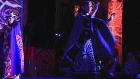 Beautiful ritual dance stock video