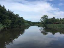 beautiful riva river Royalty Free Stock Photos