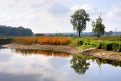The beautiful river Royalty Free Stock Photography