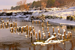 The beautiful river Stock Photo