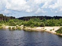 Beautiful river Royalty Free Stock Photo