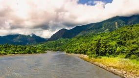 Seti Gandaki river in Nepal. A beautiful river in Nepal stock images
