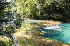 Beautiful river and pools Royalty Free Stock Image