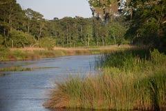 Beautiful river scene Stock Photography