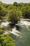 Beautiful river Una Stock Photography