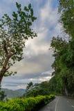 Beautiful road in Banaue. Philippines Royalty Free Stock Photo