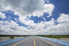 Beautiful road Stock Image