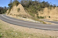 Beautiful  Road Side View Of Himachal Pradesh India