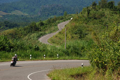 Beautiful Road. These is beautiful road to Chiangmai Royalty Free Stock Image