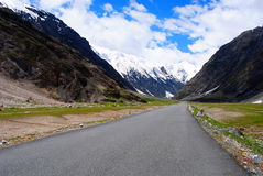 A beautiful road to Ladakh Stock Image