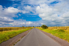Beautiful road Stock Images