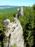 Beautiful rock in Bohemian paradise Royalty Free Stock Images