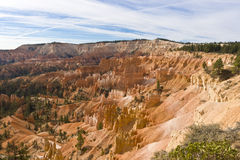Beautiful rock formation in Bryce Canyon. Stock Photo