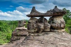 Phu Pha Thoep National Park in Thailand Stock Photos