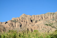 Beautiful rock formations Stock Photography
