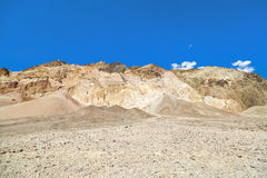 Beautiful rock formations artists drive in the Death Valley Royalty Free Stock Image