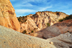 Beautiful Rock Formations at Tent Rocks Royalty Free Stock Photography
